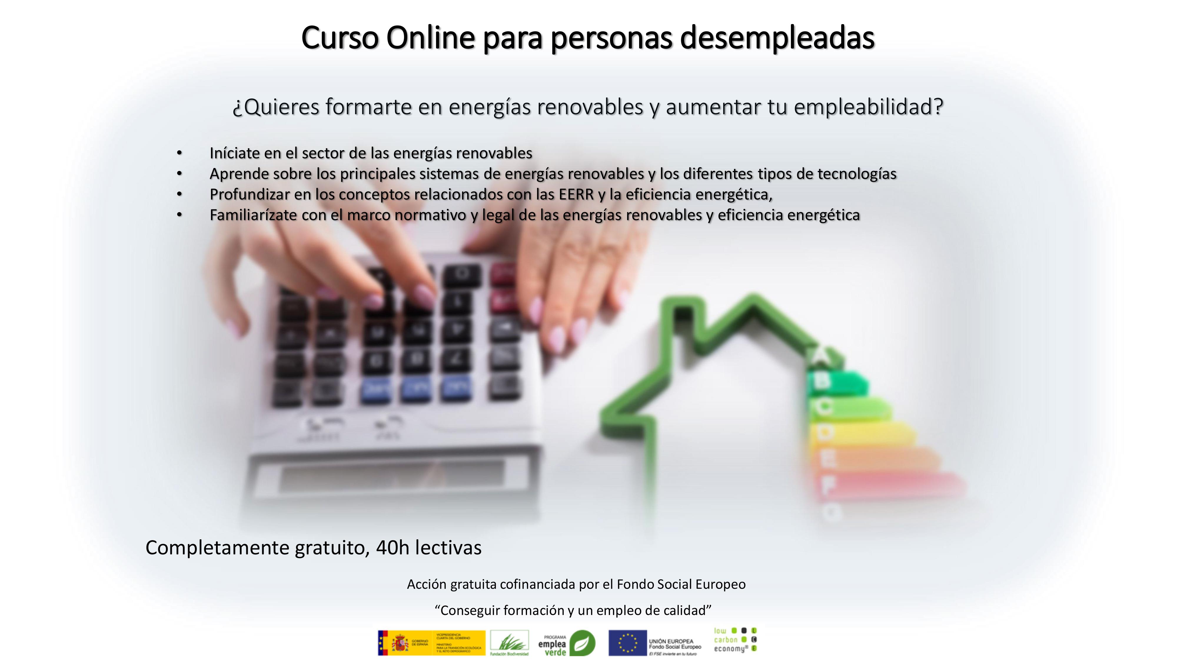 curso online desempleados